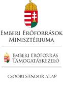 Szöveges szakmai beszámoló CSSP-NEPTANC-2018-0561 Emberi Erőforrás Támogatáskezelő, Csoóri Sándor Alap